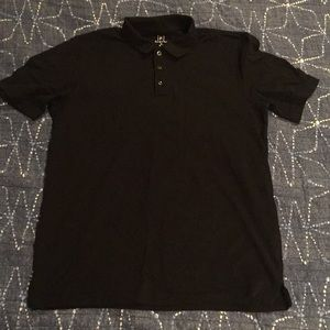 Black collared Polo. (ALWAY OPEN TO OFFERS)